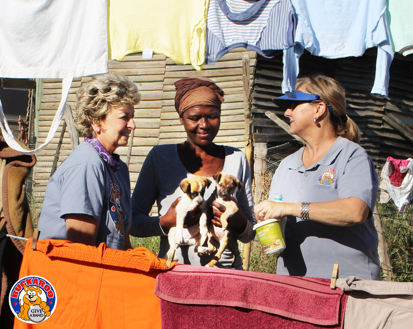 Marlene Neumann's Buckaroo Charity helps dogs in the Cintsa township