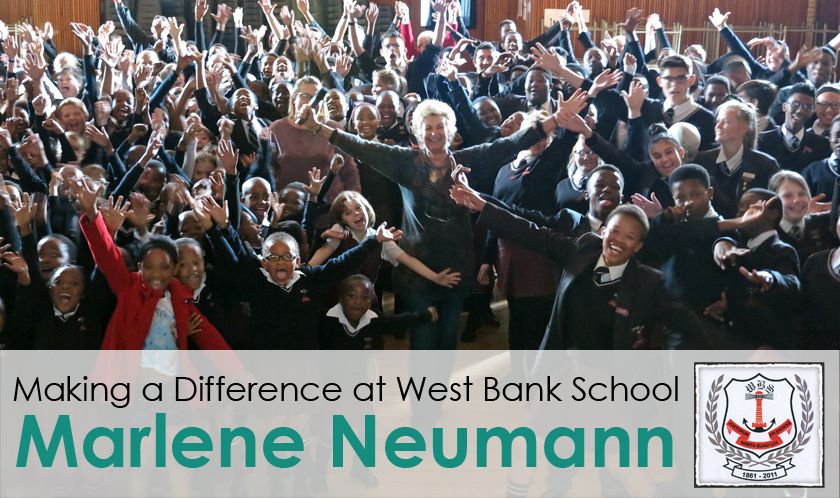 Marlene Makes A Difference at West Bank School