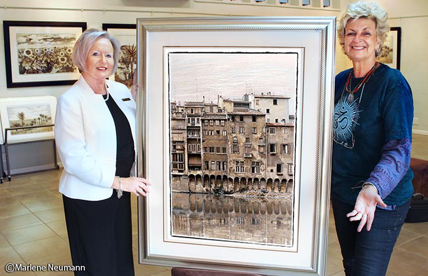 Marlene in Gallery Riverside Reflections